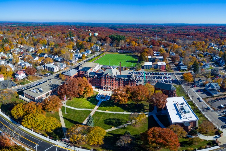 Aerial Image of Dean College Campus