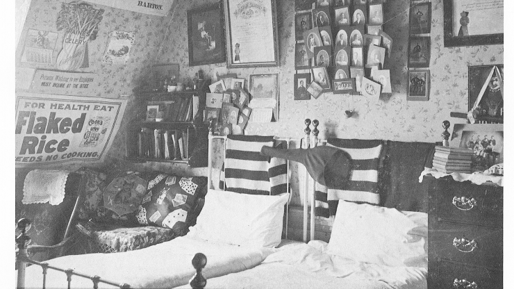 Dean Hall Dorm Room (1899)
