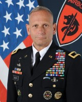 Brigadier General Donald C. Bolduc '86, US Army, retired, 2019 executive lecture speaker.